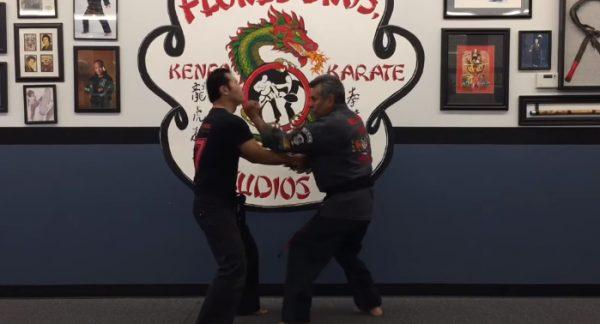 How to do Darting Mace Self Defense Technique