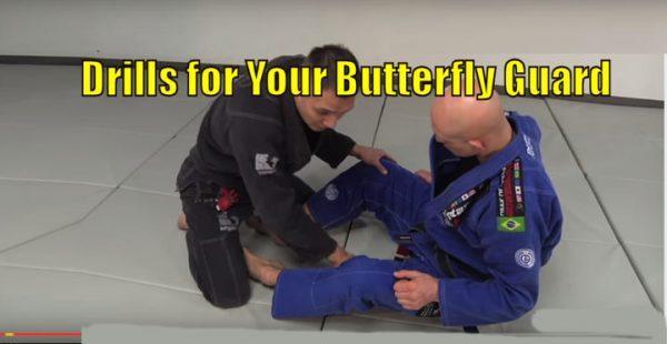 Learn 3 Drills for Your Butterfly Guard in Brazilian Jiu Jitsu