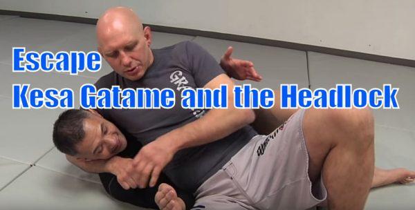 How to Escape Kesa Gatame and the Headlock