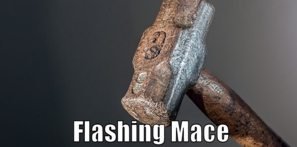 How to do Flashing Mace Self defense technique