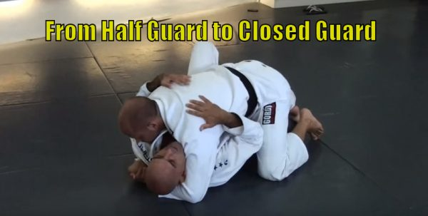 How to Transition from Half Guard to Closed Guard