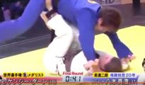 Gracie Jiu Jitsu vs Japanese Judoka