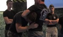 Guillotine Choke Escape in Krav Maga