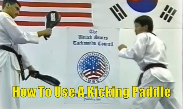 How To Use A Kicking Paddle