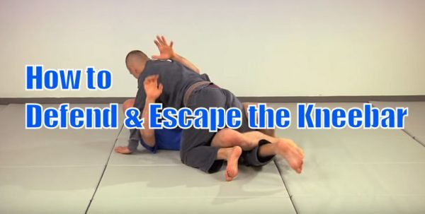 How to Defend and Escape the Kneebar