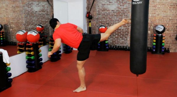 How to Do a Back Kick in Kickboxing and in most Martial Arts