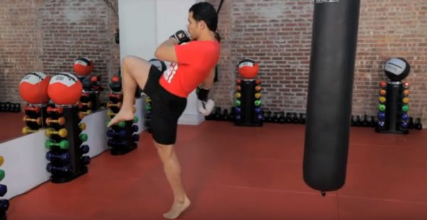 How to Do a Knee Strike in Kickboxing