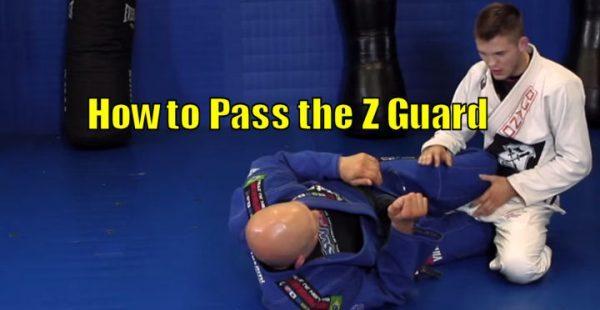 How to Pass the Z Guard in Brazilian Jiu Jitsu