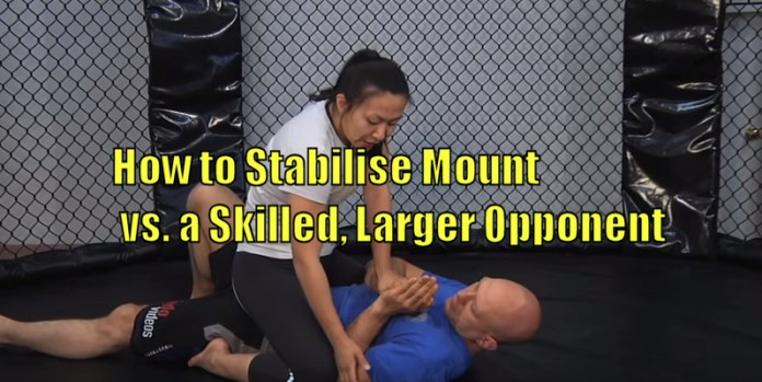How to Stabilize Mount vs. a Skilled and larger opponent