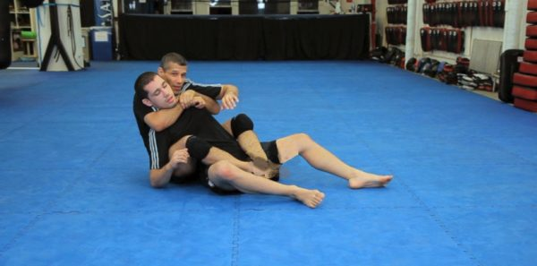 How to do a Rolling Arm Bar from Back Mount