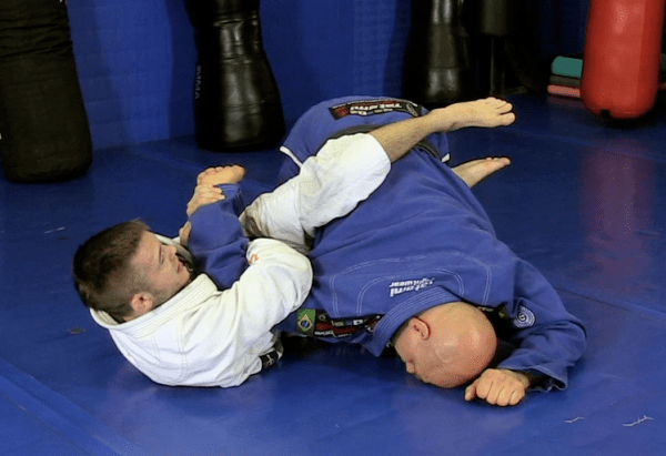 How to do an Advanced Kimura Attack from Half Guard Top