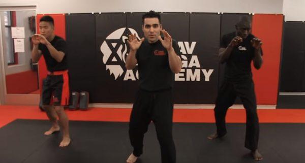 How to do the Krav Maga Fighting Stance