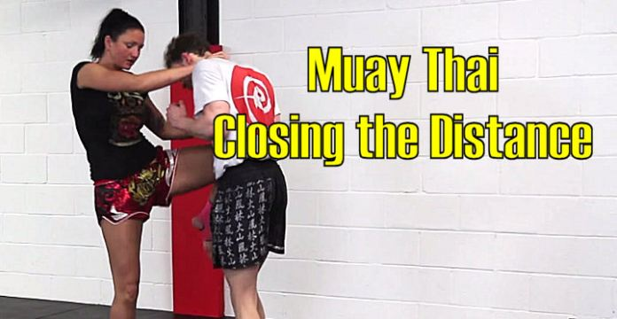 Closing Distance with kicks & knees in Muay Thai