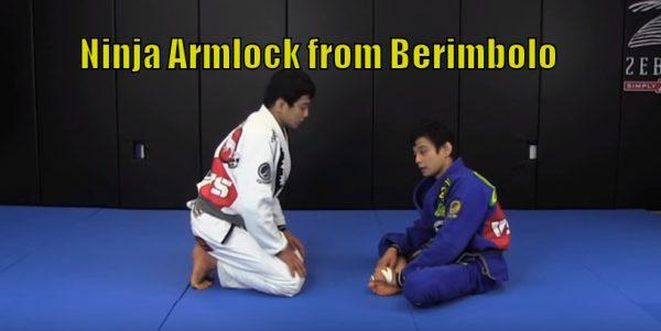 How to do the Ninja Armlock from Berimbolo