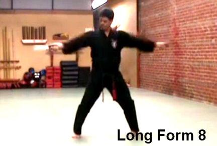 Associate Master Rick Jeffcoat doing Long Form 8