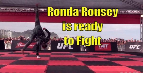 Ronda Rousey UFC Workout