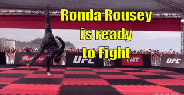 Ronda Rousey UFC Workout
