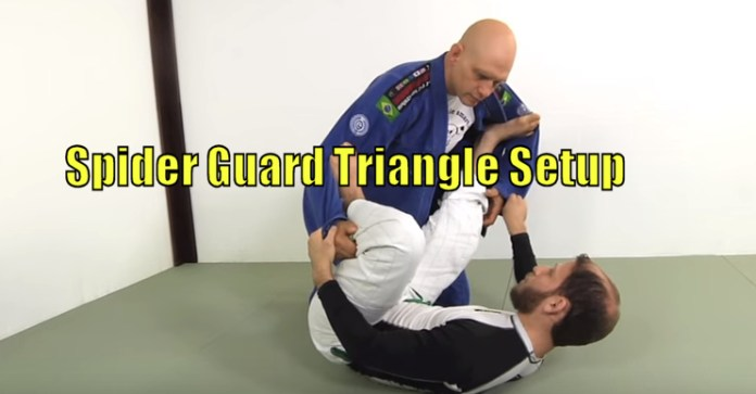 How to do a Spider Guard Triangle Setup