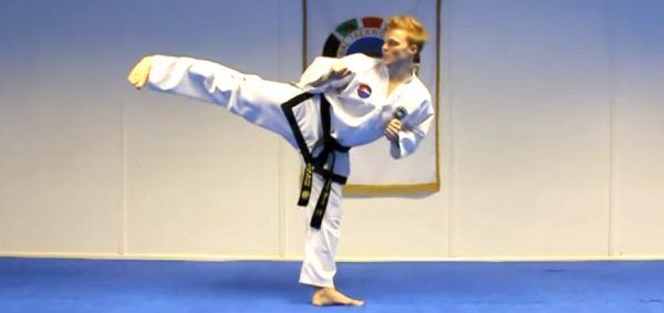 How to do a Spinning Back Kick
