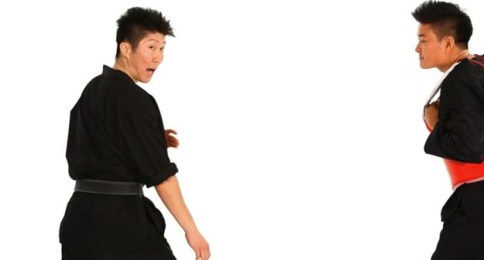 Stepping Forward and Back in Taekwondo