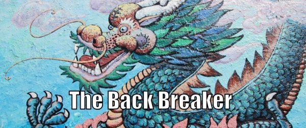 How to do the Back Breaker Self Defense Technique