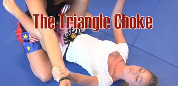 Triangle Choke in Brazilian Jiu Jitsu