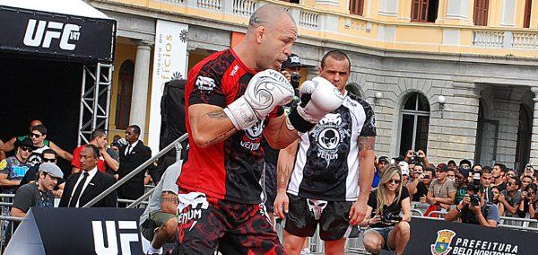 Wanderlei Silva training MMA