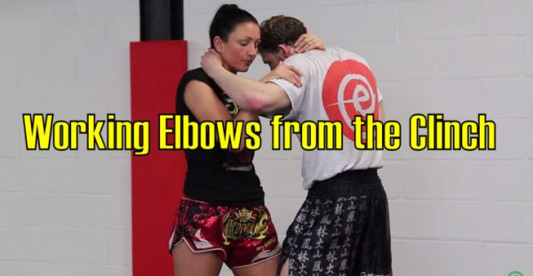 How to Work Elbows from the Clinch