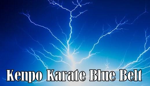 Master Blue Belt in Kenpo Karate