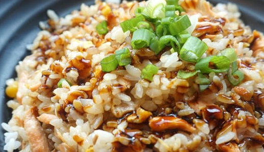 Make Scallion Rice