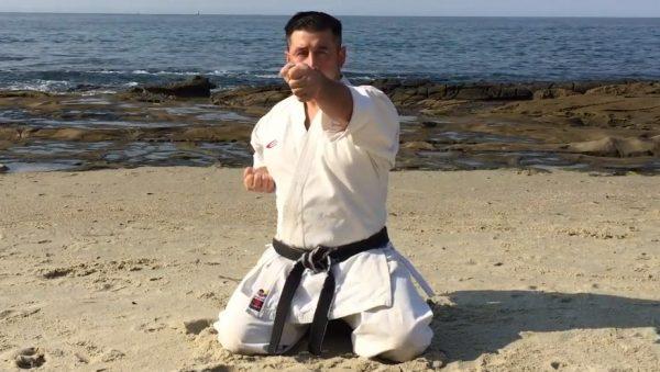 Tate Zuki in Karate