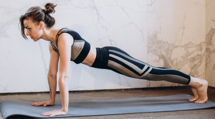 Straight Arms Plank