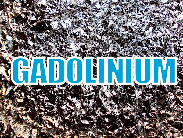How to remove Gadolinium from your Body