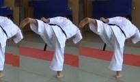 This is Ura Mawashi Geri – Back Roundhouse Kick