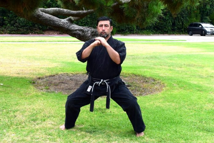 Horse Stance in Kenpo Karate