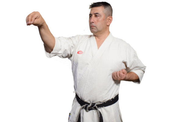 Keiko Uchi in Karate