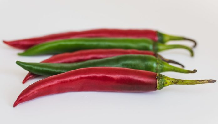 Chili Peppers to lose weight