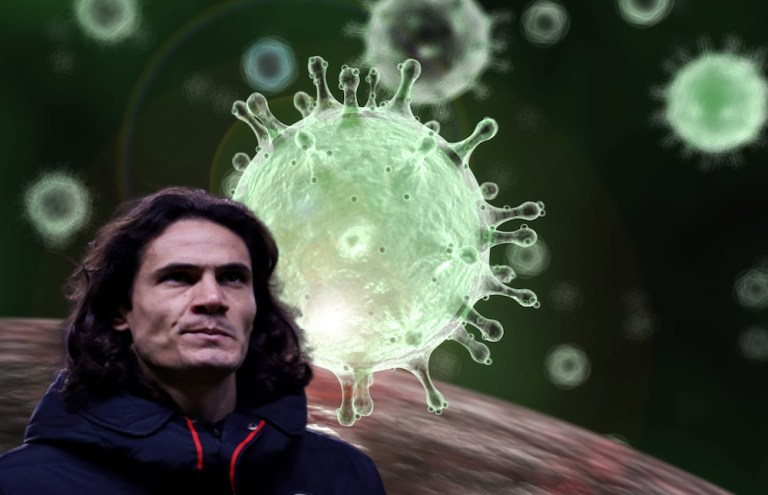 Cavani called on South Americans to contribute to preventing the spread of coronavirus