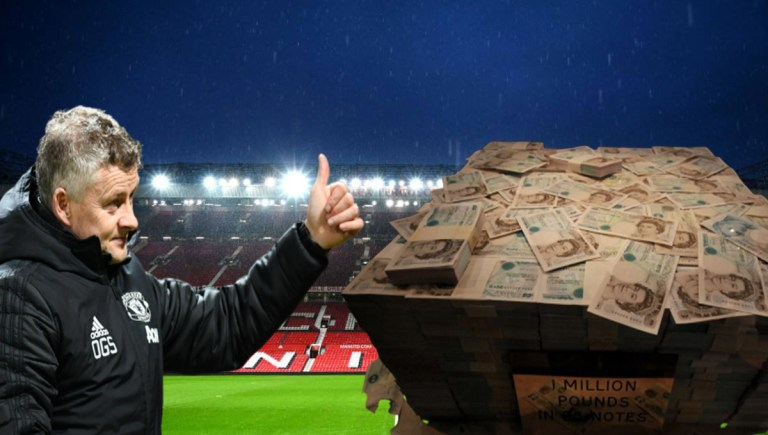 Manchester United will pay staff 1 million pounds