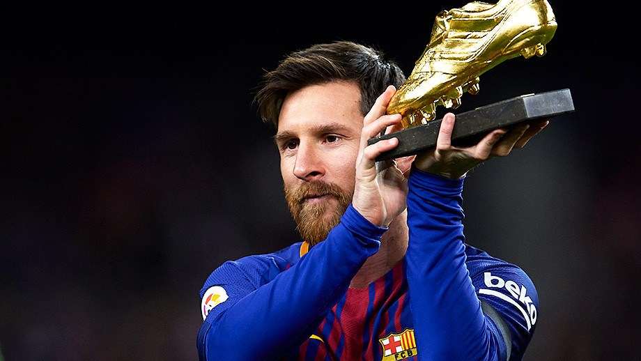 Messi named the best footballer in 25 years