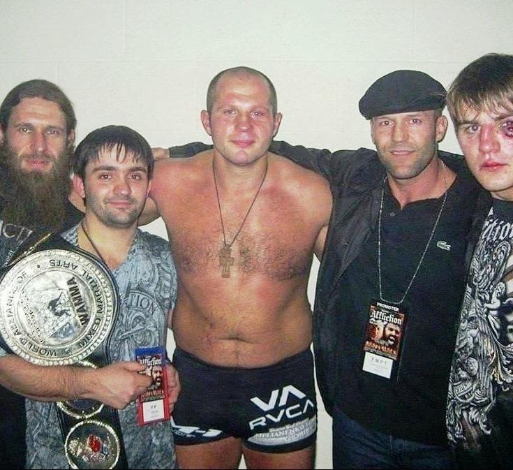 Jason Statham: Fedor Emelianenko is my favorite fighter