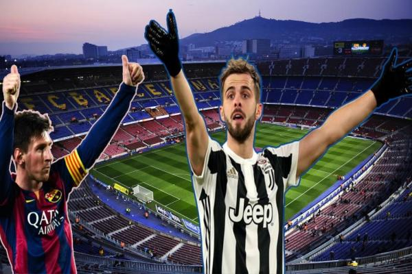 Miralem Pjanic agreed to play with Barcelona.