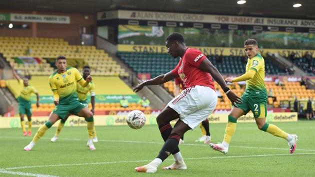 Norwich - Manchester United 1- 2 Goals video and match highlights