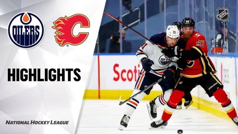 Edmonton Oilers vs Calgary Flames Jul 28, 2020 HIGHLIGHTS HD