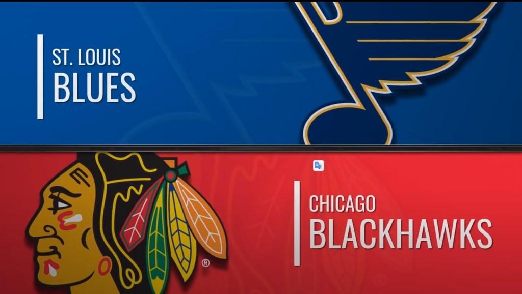 St. Louis Blues vs Chicago Blackhawks Jul.29, 2020 Exhibition Game NHL 2019-20 Match review