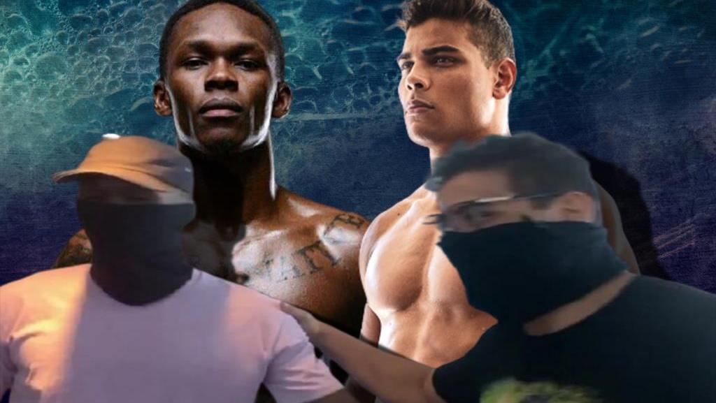 Israel Adesanya and Paulo Costa a chance meeting between caught on video