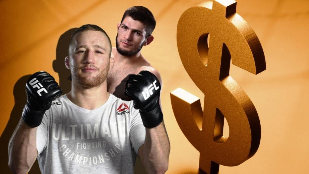Justin Gaethje said how much he will earn for the fight with Khabib Nurmagomedov