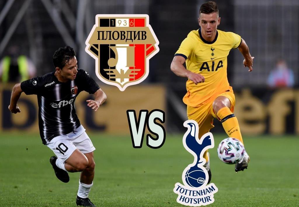 Lokomotiv Plovdiv vs Tottenham (Europa League) Highlights