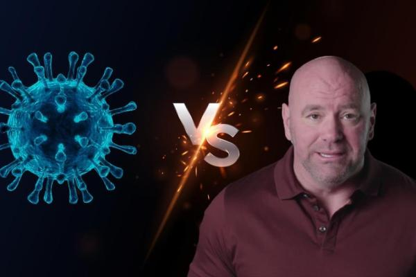 Dana White commented on the increase in the number of canceled fights due to the coronavirus.