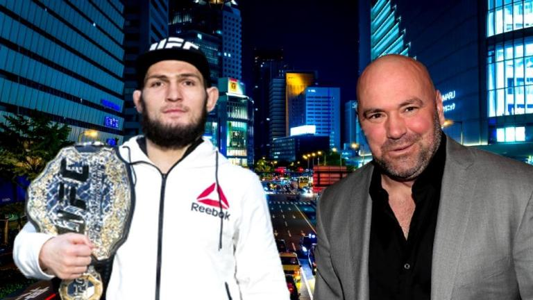 """Dana White: """"I have a little confidence that I will persuade Khabib to return"""""""